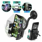2in1 Car Windshield Dashboard Suction CupAir Vent Mount Holder for Cell Phone