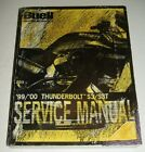 1999 2000 BUELL THUNDERBOLT S3 S3T Service Repair Shop Manual P/N 99489-00Y