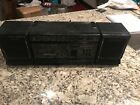 Vintage 1987 Magnavox D8270 AM/FM Stereo Cassette Boombox Portable Radio WORKING