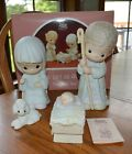 1987 Precious Moments LARGE 9 Nativity Boxed Set