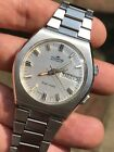 Fortis Brain Matic Automatic Vintage Mens Alarm Watch Swiss Steel 40mm AS 5008