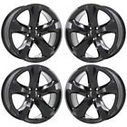 20 DODGE CHALLENGER CHARGER RT GLOSS BLACK WHEELS RIM FACTORY OEM 2411 EXCHANGE