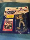 MARK MCGWIRE - Kenner Starting Lineup SLU 1988 Rookie Figure & Card Oakland A's