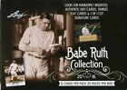2016 LEAF BABE RUTH COLLECTION BASEBALL 16 BOX LOT