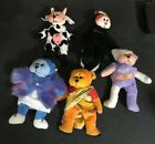 Beanie Kids Lot Of 4 Without Tags Mumsy Shanti Stinky Creamy Ouch Retired