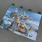 Wisemen Still Seek Him Christmas Nativity Tapestry Wall Hanging