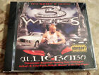 SEALED Rap CD ALLIEBABA - 3 Wishes CITY SLICKEN' IT Askari X NO The PIPER M-