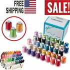 40 Spools Polyester Embroidery Machine Thread 550 YDS ea Similar2 Brother Colors