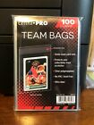 1000 Ultra Pro Team Bags Sleeves 10 Packs of 100 for Team Sets or Toploaders