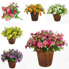 28 Heads Bunch Fake Silk Gerbera Daisy Flowers Bouquet Table Wedding Party Decor