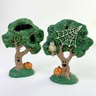 Creepy Hollow Dept 56 Lemax Villages Spooky Accessories Haunted Trees NEW!! 1996