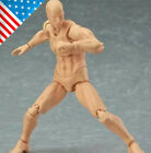 6inch PVC Movable Figma Male Action Figure Body Model For Art painting Sketch