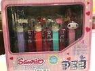 2006 Hello Kitty & My Melody Collectible Pez Dispensers In Tin Case. Unopened