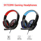 SY733MV Wired Computer Gaming Headphones Over-ear Game Headset With Microphone