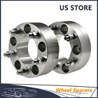 Pair 2 Wheel Spacers Adapters 5x55 1 2 For Jeep Wrangler Grand Cherokee 99 16
