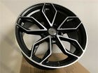 FOUR 18X80 BLACK MACHINE G2 STYLE RIMS FOR LEXUS GS300 SC430 IS300