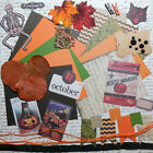 Card Making Kit Vintage Halloween Paper and Embellishments to Make 5 Cards