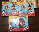 DISNEY MICKEY MOUSE JUNIOR RIDE IN POOL BEACH FLOAT SEAT INFANT TODDLER W BALL