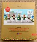 Peanuts Gang Snoopy Hallmark Christmas Light Show Music Special Edition -NEW