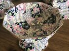 Vintage Royal Winton Quilt Chintz Candy Nut Dish Circa 1935 Repaired As Is