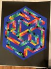 Victor Vasarely Hand Signed And Numbered 6 Of 250