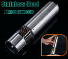 Electric Stainless Steel Cooking Tool Salt Pepper Grinder Automatic Mill