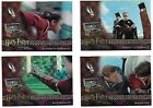 Harry Potter and the Sorcerer's Stone BT1-BT4 Complete Box Topper Chase Card Set