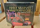 1993 ☆ MARVEL MASTERPIECES ☆ Series 2 ☆ Trading Cards Sealed Wax Box (36 Packs)