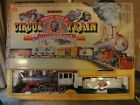 Bachmann Emmett Kelly Jr. Circus Train, The Ringmaster. Complete G scale set!
