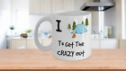 Camping Mug I Camp to get the CRAZY out Tent Camper Lover Coffee Cup Gift Cup