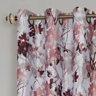 100 Thermal Lined Grommet Floral Blackout Curtains Assorted Sizes