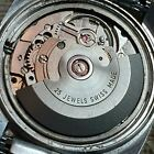 VGC servicedvintage 25 jewls Swiss automatic MarvinETA 2789all stainless35mm