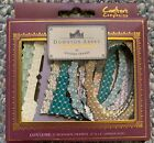 CRAFTERS COMPANION DOWNTON ABBEY CRAFT WOODEN FRAME EMBELLISHMENTS NIB
