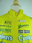 CANNONDALE YELLOW LONG SLEEVE CYCLING JERSEY JACKET M SPONSOR HELENS SANTA MONIC