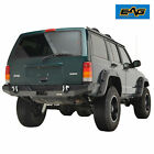 EAG Fits 84 01 Jeep Cherokee XJ Rock Crawler Rear Bumper W Hitch Receiver