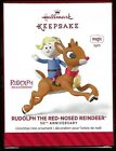 Hallmark 2014 Rudolph the Red-Nosed Reindeer Hermey 50th Anniversary Ornament