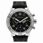Breguet Aeronavale 3800st/92/9w6 Stainless Steel Black dial 39mm Automatic...