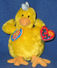 TY HENLEY the CHICKEN -  2.0 BEANIE BABY - MINT with MINT TAGS - UNUSED CODE