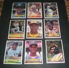 1984 DONRUSS BASEBALL CARD SET - 660 CARDS
