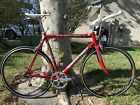Red 2003 Cannondale CAAD5 R800 56cm 105 Flat Bar Conversion 1x9 Super Fast