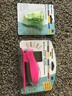 2 NIB EK Success Corner Punch Adorner AND Bar Stapler Fastenater Paper Shaper