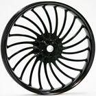 Ryd Wheels Volt Black 23 x 375 Front Wheel 2000 2020 Harley Touring