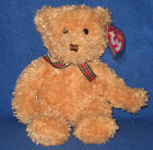 TY HUNTLEY the BEAR BEANIE BABY - MINT with MINT TAGS