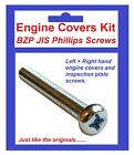 BZP Philips Engine Covers Kit - Kawasaki Z550 KZ550