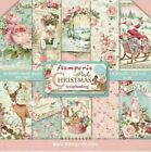 Stamperia Pink Christmas 8 x 8 Paper Pack NEW RELEASE  Vintage Style