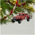 2019 Ornament - Fire Brigade 1958 Dodge Power Wagon Fire Engine With Light