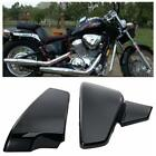 Black Battery Side Fairing Cover Fit for Honda Shadow VLX Deluxe VT600C 99-2007