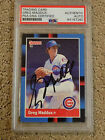 Greg Maddux Cards, Rookie Cards and Memorabilia Guide 49