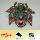 Injection New Fairing Fit for Kawasaki 2006-2011 ZX14R ZZR1400 Red Black w05