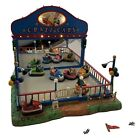 Lemax Crazy Cars Animated carnival train village Bumper Cars Sights